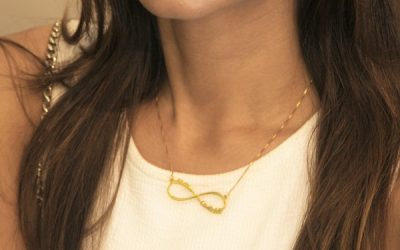 Customized Infinity Necklace Ft. oNecklace!
