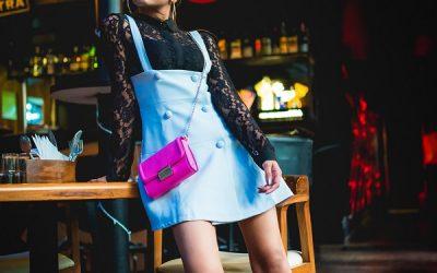 A Blue Pinafore Dress!